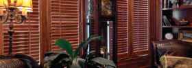 Plantation Shutters for an office
