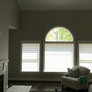 after vignette blinds